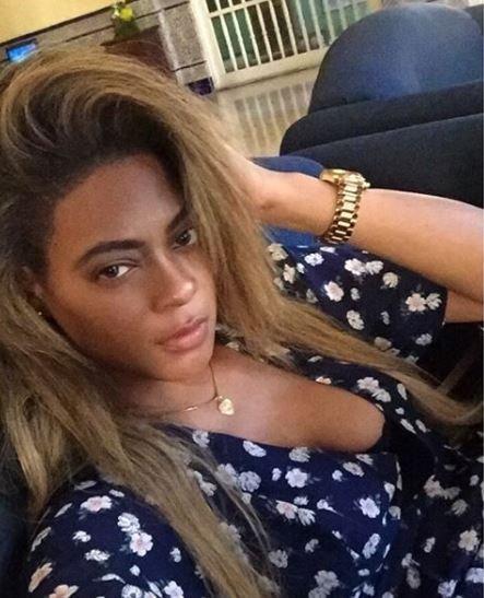 Ünlü şarkıcı Beyonceye ikizi kadar benziyor
