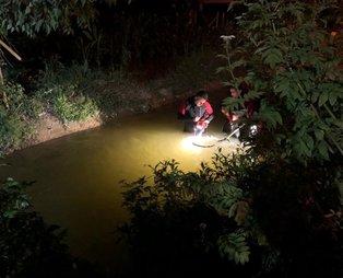 Sakarya'da acı son! 4 yaşındaki çocuğun cansız bedenini 63 kişilik ekip 6 saat sonra buldu