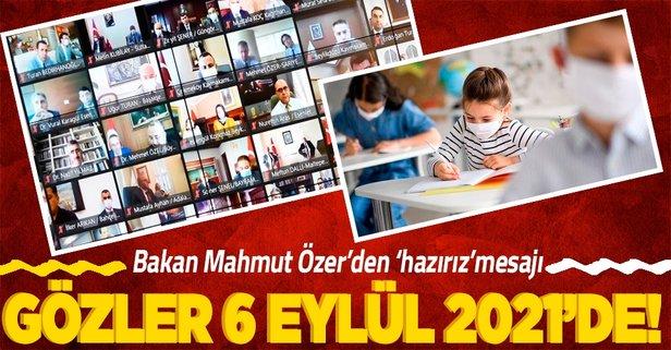 Bakan Özer'den 'eğitim' açıklaması! 6 Eylül'de...