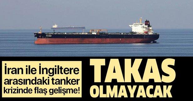 Tanker krizinde flaş gelişme!