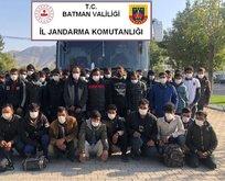 Batman'da 55 düzensiz göçmen yakalandı!