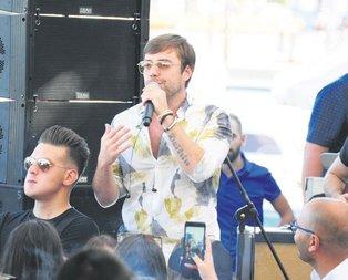 Murat konserde Hande Çeşmede
