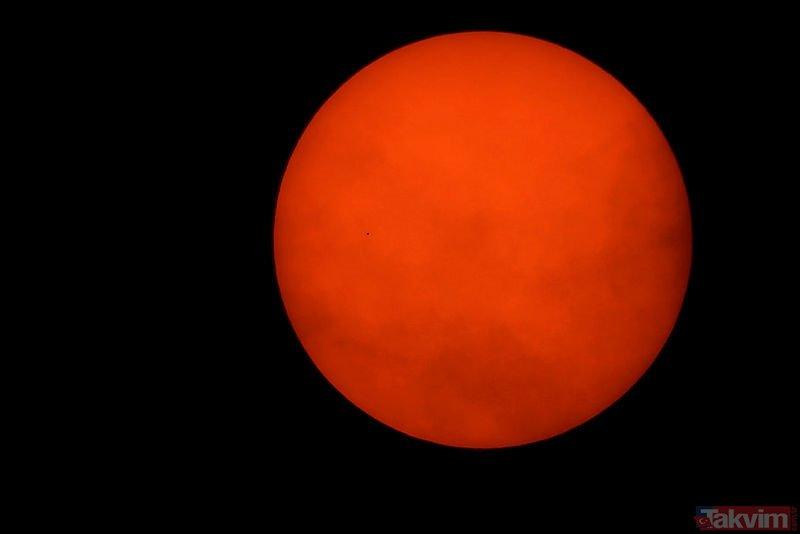 Tüm dünya merakla bekliyordu! Merkür, Güneş ile Dünya'nın arasından geçti