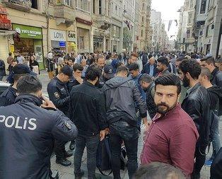 İstiklal Caddesi'nde bomba hareketliliği