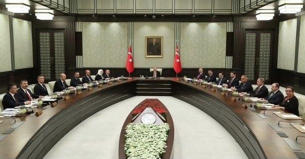 İlk Cumhurbaşkanlığı Kabine Toplantısı başladı