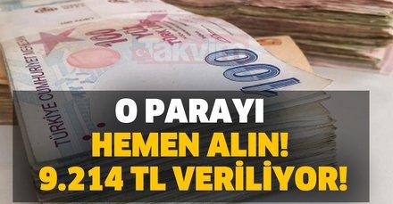 O parayı hemen alın! 9.214 TL para alma ve başvuru şartları nedir? SGK ve İŞKUR binlerce lira veriyor!