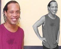 Ronaldinho'nun hapishaneden ilk fotoğrafı