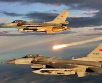 Irak'ın kuzeyine hava harekatı! PKK'ya bir darbe daha