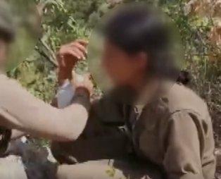 Yaralı halde yakalanan kadın teröristin ilk sözleri bakın ne oldu!