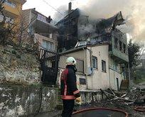 Üsküdar'da yangın! Çok sayıda ekip bölgede