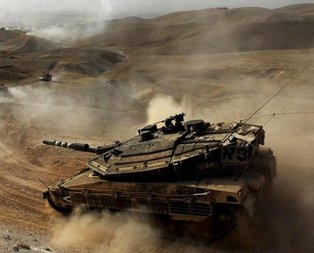 İsrail tankları Suriyeyi vurdu