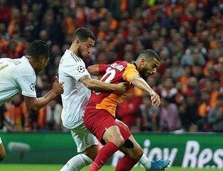 Galatasaray'da Belhanda taraftarla tartıştı Terim tepki gösterdi!