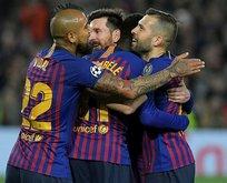 Barcelona, Lyon'a gol olup yağdı!