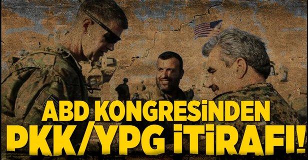ABD Kongresinde flaş YPG raporu