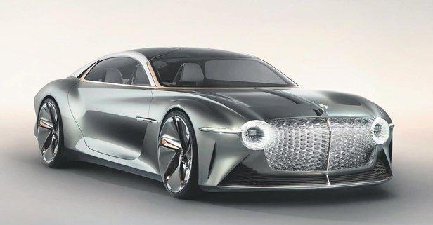 Bentley fişe taktı