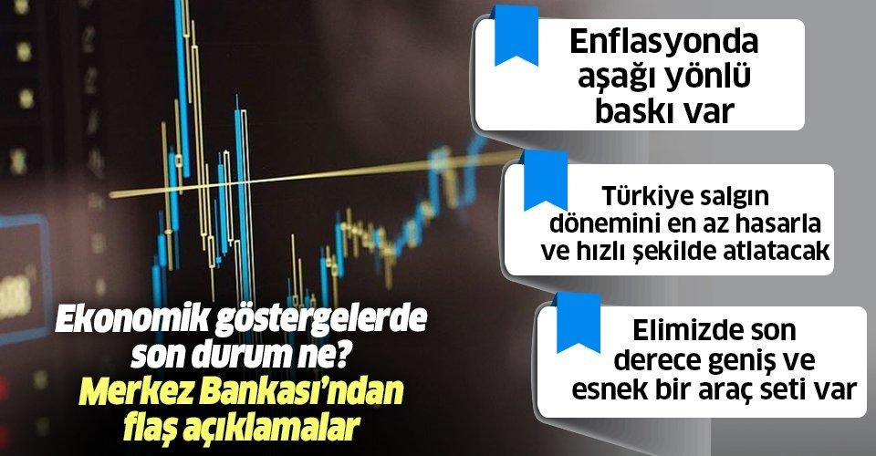 Son dakika: Merkez Bankası Başkanı Murat Uysal'dan flaş enflasyon açıklaması