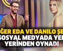 Masterchef Danilo Zanna ve Eda Ece...