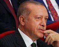 Başkan Erdoğana büyük sürpriz!