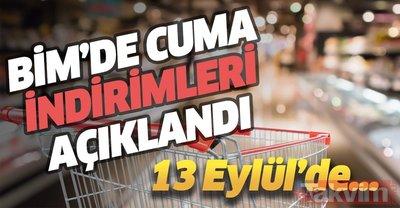 13 Eylül BİM Aktüel Ürünler Kataloğu: Cuma günü indirimleri çeşit çeşit! İşte güncel fiyat listeis