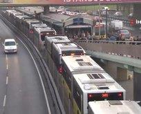 Metrobüs yoğunluğuna çözüm bulunamıyor!