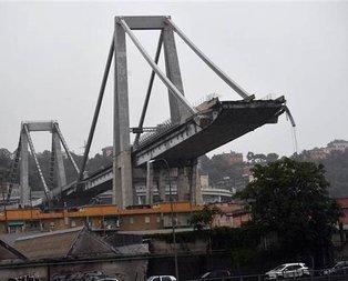 İtalyada köprü faciası! Onlarca kişi hayatını kaybetti