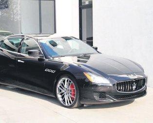 Yarı fiyatına Maserati