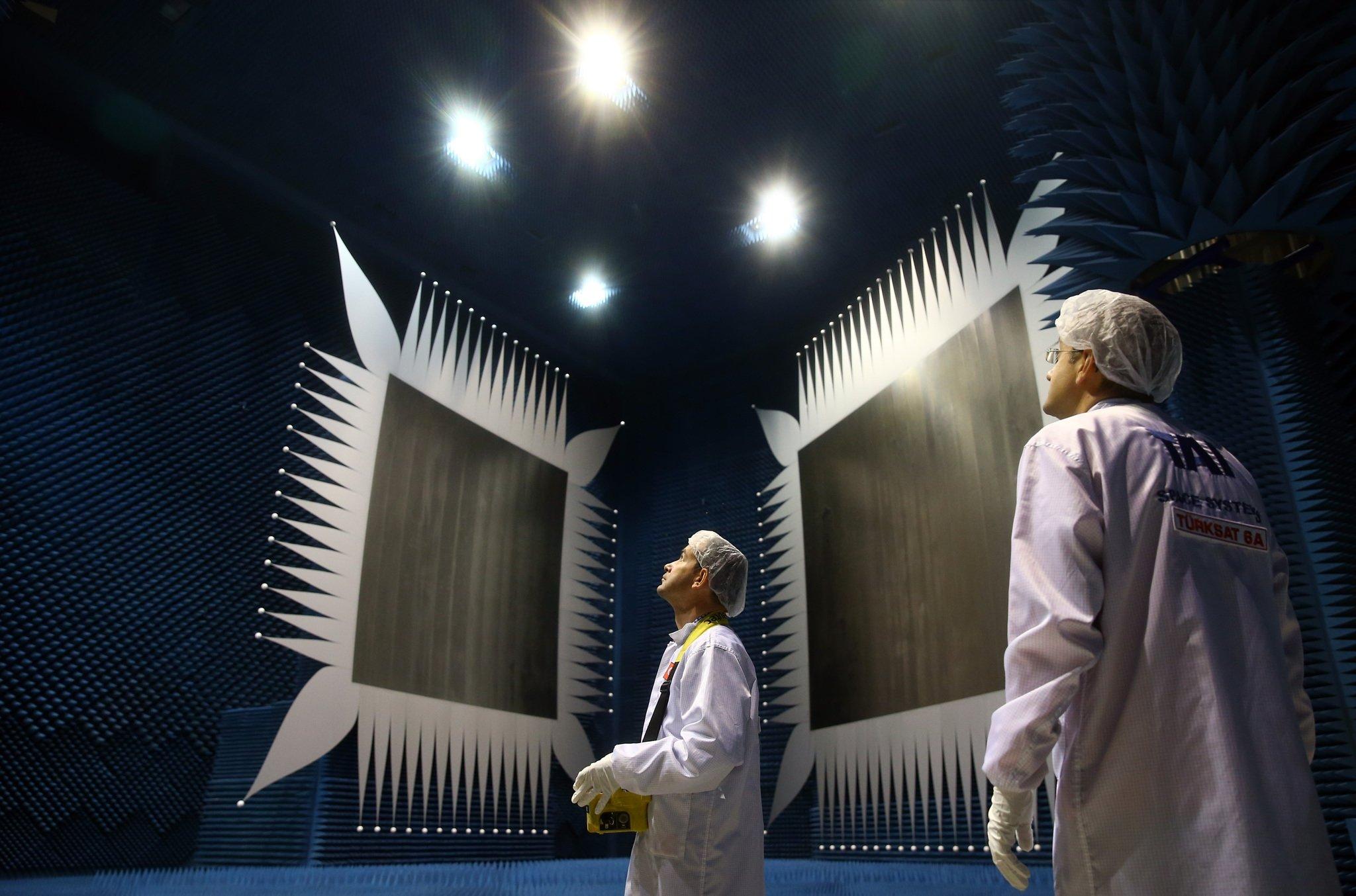 Türkiye'nin ilk uydu merkezi kapılarını açtı