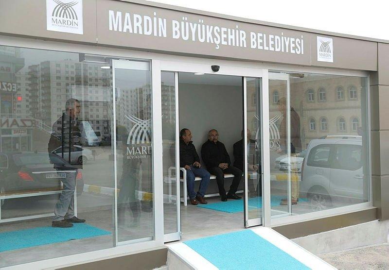 Mardin'de klimalı duraklar