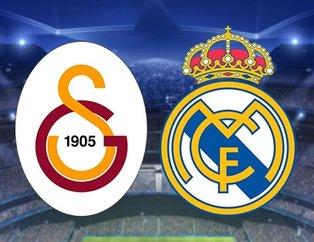 Şampiyonlar Ligi Galatasaray - Real Madrid maçı muhtemel 11'leri