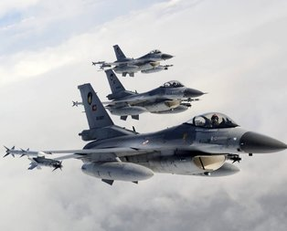 MSB duyurdu! Türk F-16'lar Suriye'de uçtu