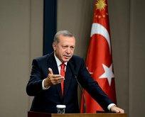 Erdoğandan Türk Hava Kuvvetlerine kutlama mesajı