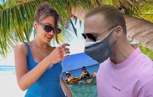 Hande'nin aklı Maldivler'de kaldı! İşte yeni pozlar...
