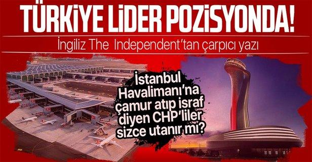 Türkiye havacılıkta lider pozisyona geldi!