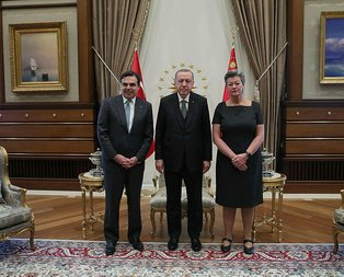 Başkan Erdoğan AB heyetini kabul etti