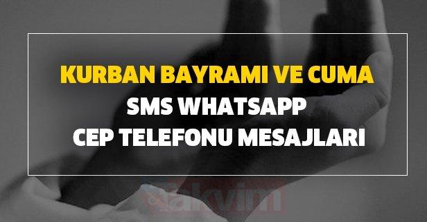 Kurban Bayramı ve Cuma SMS Whatsapp cep telefonu mesajları