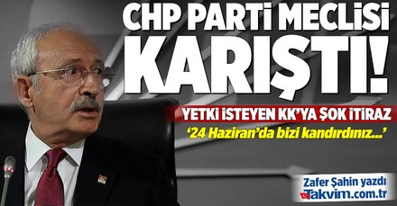 CHP Parti Meclisinin perde arkası