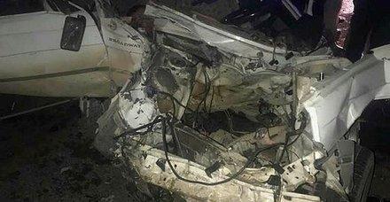 Şanlıurfa'da feci kaza! 2'si ağır 9 kişi yaralandı