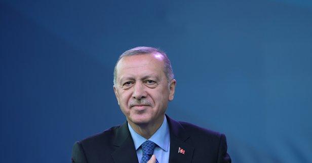 Başkan Erdoğan'dan şampiyonlara tebrik