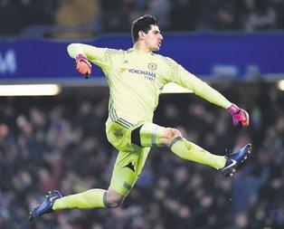 Chelsea'li Courtois Real Madrid yolunda ( Yurttan ve dünyadan spor haberleri)