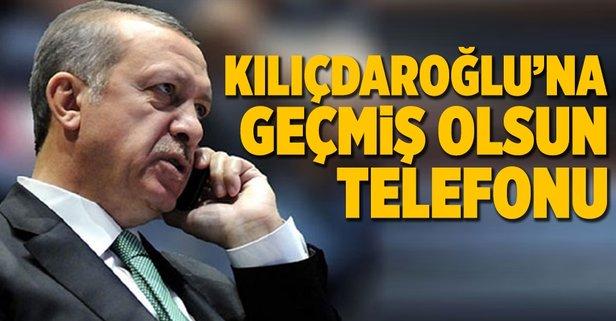 Erdoğandan Kılıçdaroğluna telefon