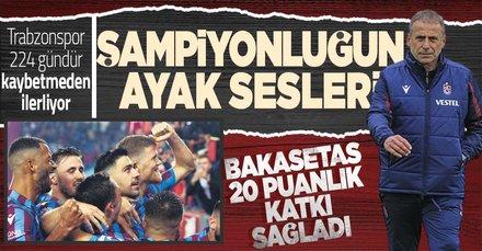 Ligde 224 gündür kaybetmiyor! Trabzonspor özlediği şampiyonluğa göz kırpıyor