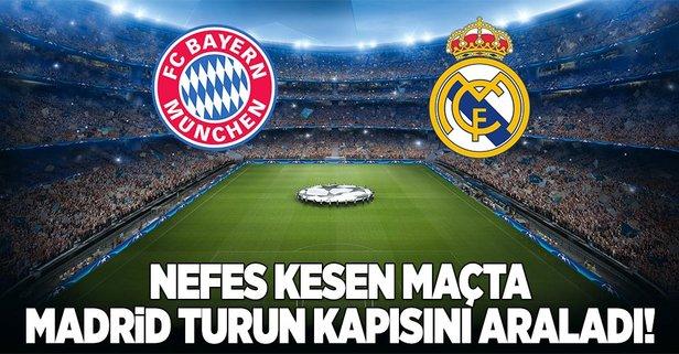 Bayern başladı Madrid bitirdi