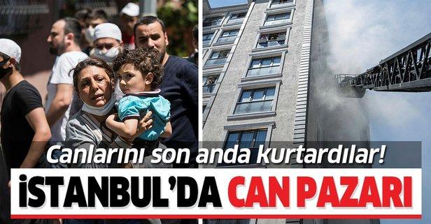 İstanbul'da can pazarı! Canlarını zor kurtardılar