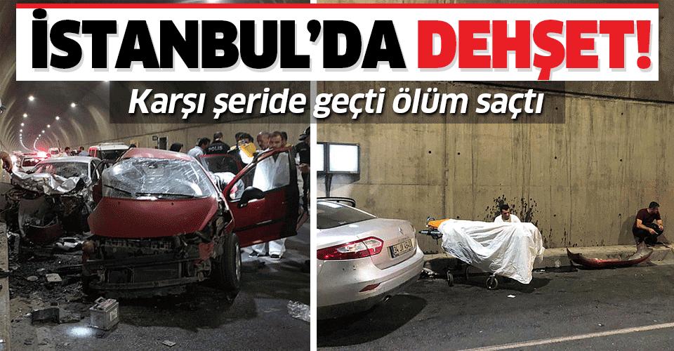Pendik'te korkunç kaza! 2 kişi öldü, 1 kişi yaralandı