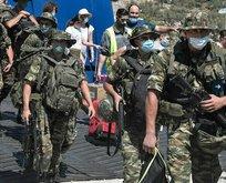 Yunanistan'dan yeni provokasyon: Meis Ada'sına asker gönderdiler