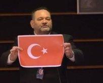 Türk bayrağını yırtan alçakla ilgili flaş gelişme!