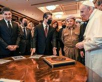 Papa'nın Irak ziyaretinde skandal harita!