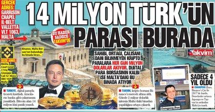 Dijital para borsasının kalbi Malta'daki bu binada! 14 milyon Türk'ün parası var...