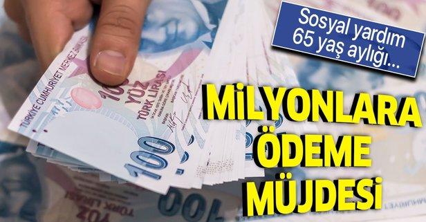 Milyonlara ödeme günü