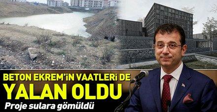 CHP'nin İstanbul adayı Ekrem İmamoğlu Beylikdüzü'ne verdiği sözleri tutamadı